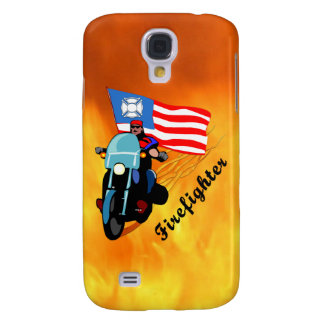 Firefighter Bikers Galaxy S4 Cover