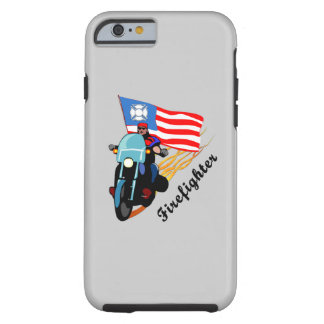 Firefighter Bikers Tough iPhone 6 Case