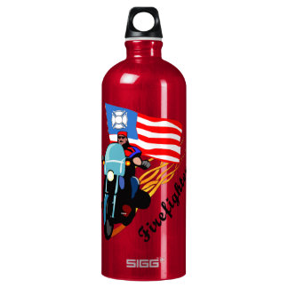 Firefighter Bikers Water Bottle