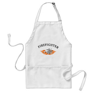 Firefighter Bull Dog Tough Adult Apron