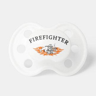 Firefighter Bull Dog Tough Pacifier