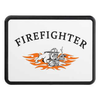Firefighter Bull Dog Tough Tow Hitch Covers