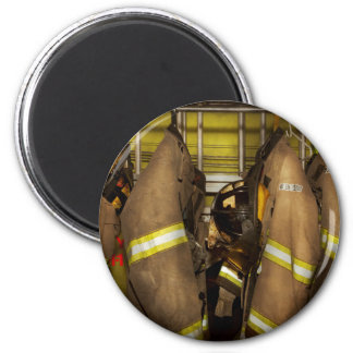 Firefighter - Bunker Gear Magnet