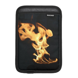 Firefighter Burning Fire Flames Gift for Firemen iPad Mini Sleeves