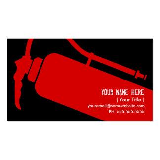 firefighter business card template