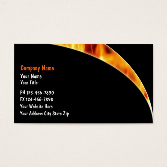 Firefighter business cards zazzle firefighter business cards colourmoves