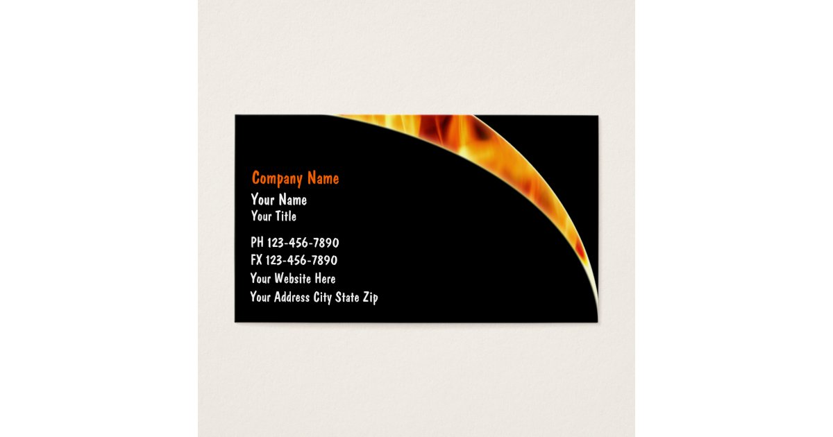 Awesome Firefighter Business Cards Pictures Inspiration - Business ...