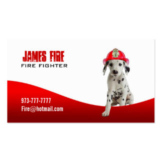 Firefighter Business cards