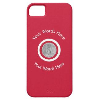 Firefighter Captain 2 Silver Bugles iPhone SE/5/5s Case