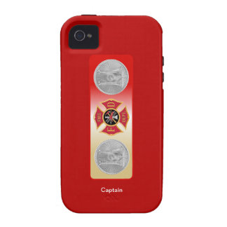 Firefighter Captain 2 Trumpet Shield Case For The iPhone 4