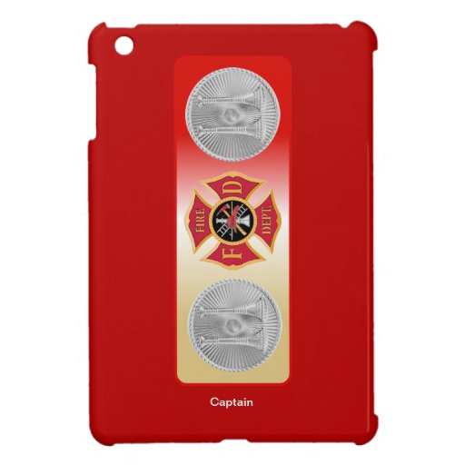 Firefighter Captain 2 Trumpet Shield Cover For The iPad Mini
