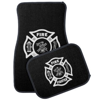 Firefighter Car Mats