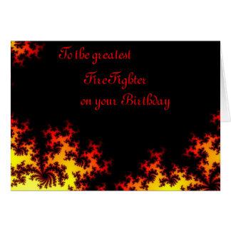 Firefighter Card