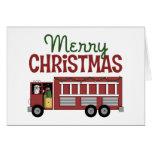 Firefighter Christmas Card