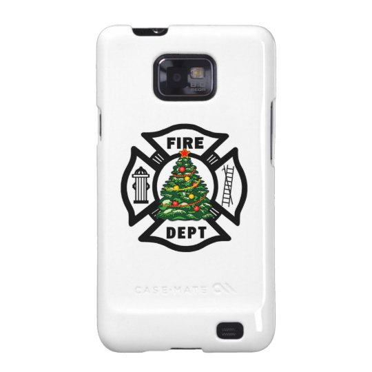 Firefighter Christmas Galaxy S2 Cover