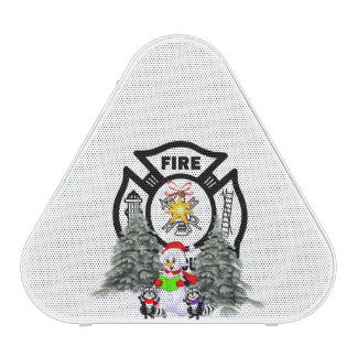 Firefighter Christmas Speaker