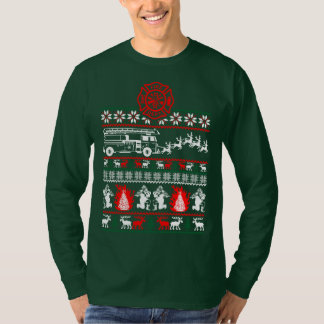 Firefighter Christmas Sweater Ugly