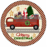 Firefighter Christmas Tree Ornament Photo Cutouts