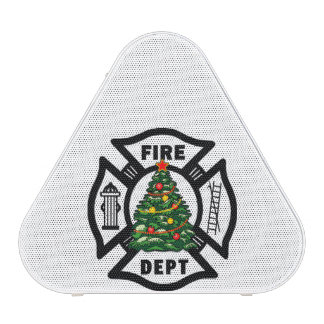 Firefighter Christmas Tree Speaker