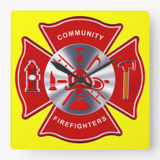Firefighter Clock