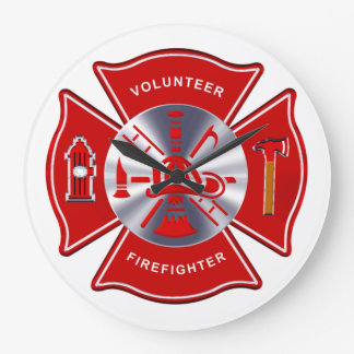 Firefighter Clock - Volunteer