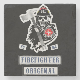 Firefighter Coasters! Stone Coaster