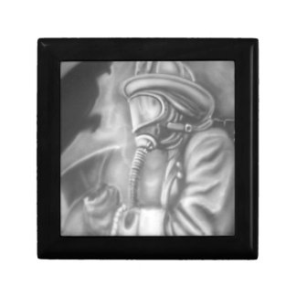 firefighter collection jewelry box