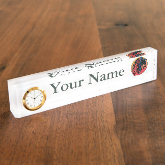 Firefighter Colors Nameplate