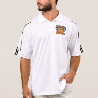 Firefighter Conquering Fear Polo Shirt