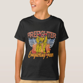 Firefighter Conquering Fear T-Shirt