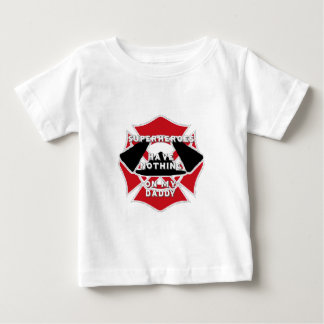 Firefighter daddy baby T-Shirt