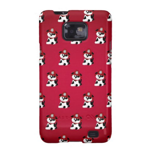 Firefighter Dalmations Galaxy S2 Case