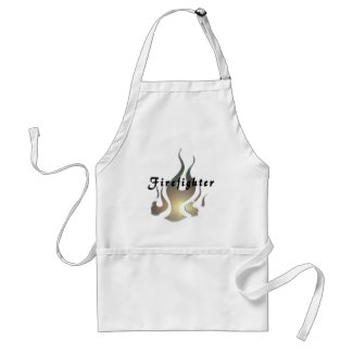 Personalized Firefighter Family Aprons