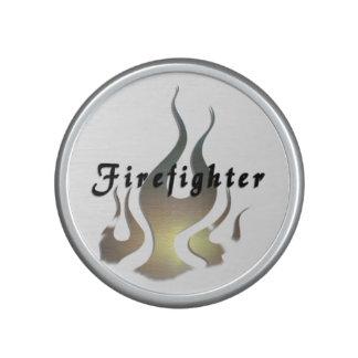 Firefighter Decal Bluetooth Speaker