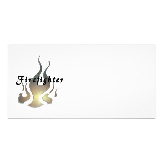 Firefighter Decal Card