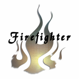 Firefighter Decal Cutout