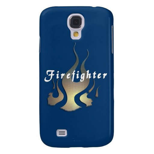 Firefighter Decal Galaxy S4 Cover