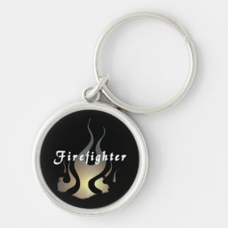 Firefighter Decal Keychain