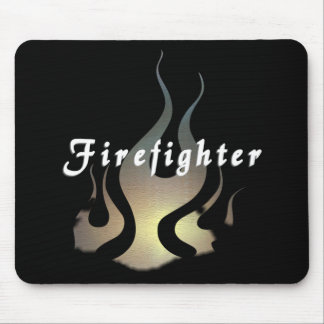 Firefighter Decal Mouse Pad