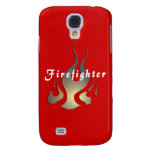 Firefighter Decal Samsung Galaxy S4 Cases