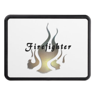 Firefighter Decal Tow Hitch Cover