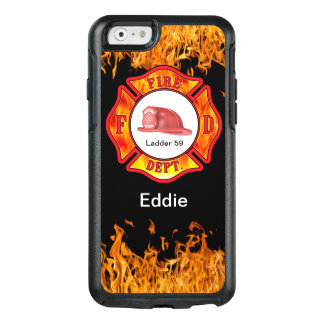 Firefighter Defender Name Drop Case