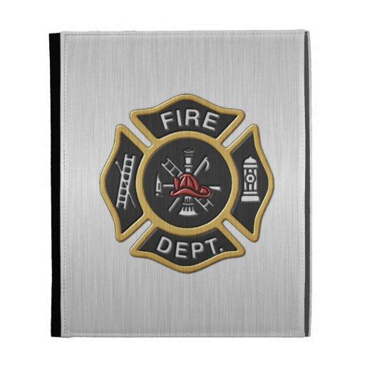 Firefighter Deluxe iPad Folio Covers