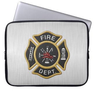 Firefighter Deluxe Laptop Sleeve