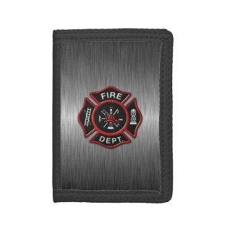 Firefighter Deluxe Tri-fold Wallets