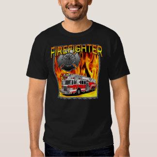FIREFIGHTER  DESIGN T SHIRT