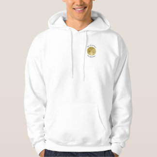 Firefighter Division Chief Gold Medallion Hoodie