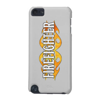 Firefighter Double Flames iPod Touch (5th Generation) Case