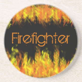 Firefighter Drink Coasters