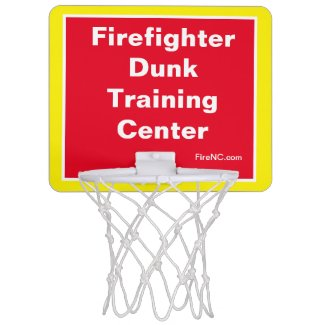 Firefighter Dunk Training Center Mini Basketball Hoop